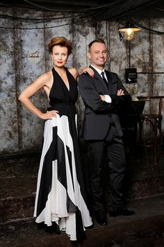Jitka Schneiderová a Marek Dědík na oficiální promo fotce StarDance