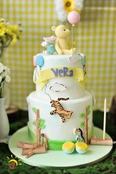 Vera's Winnie the Pooh Themed Party – Cake