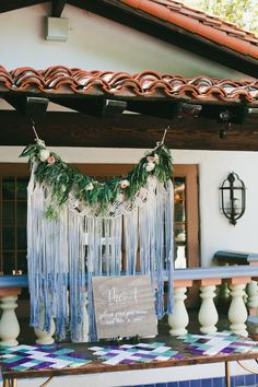 b0b613cde8 Romantic Blue Al Fresco California Wedding at Rancho Las Lomas