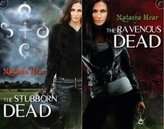 Lost Souls books 1 & 2 side-by-side comparison. Both by Glo Creative Inc. #TheStubbornDead #TheRavenousDead
