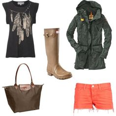 rainy day outfit styled by foreign affair!