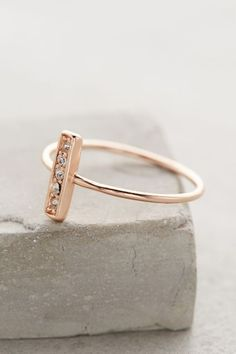 This threadbear minimal ring is a must!