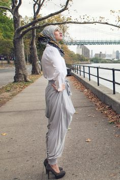 Inspired Outfit: The Best Harem Pants Ever Made - Already Pretty | Where style meets body image