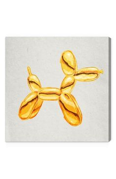 Oliver Gal 'Balloon Dog Lux' Wall Art available at #Nordstrom I can recreate this!