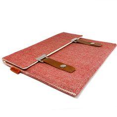 I want this Red herringbone iPad case! Need an iPad too! =)