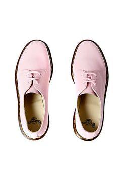 derbies dr martens 1461 rose pale femme chaussures accessoires femme