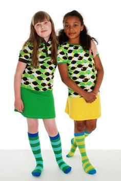 T-shirt poissons verts - jupes basic