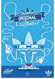 Adidas Original by YOCH , via Behance