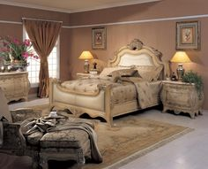 Chateau Upholstered Bedroom Set by Orleans International - Home Gallery Stores