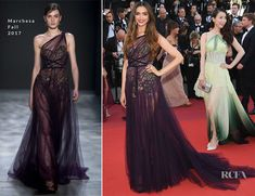 Deepika Padukone In Marchesa - 'Ismael's Ghosts' Cannes Film Festival Premiere - Red Carpet Fashion Awards