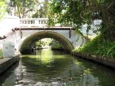Winter Park, Fl. canals