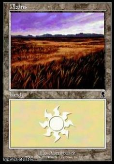 Plains (331) x2 Near Mint Normal English Magic the Gathering Odyssey Magic Card
