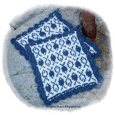 Ravelry: Fiskestim og Ugleapper pattern by Jorunn Jakobsen Pedersen Knitted Hats, Crochet Hats, Crochet Kitchen, Pot Holders, Ravelry, Tatting, Blanket, Sewing, Pattern
