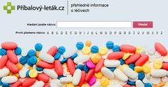 Úvodní fotka na sociální sítě oblíbeného webu, který poskytuje příbalové letáky k léčivům online