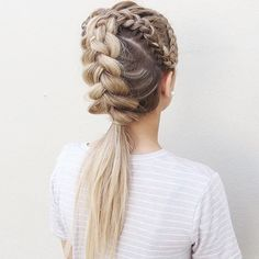 BRAID it UP!! ✨ love this inspo coming to us from @hairtrends_byjess @hairtrends_byjess ✨ #dutchbraids #beyondtheponytail