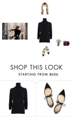 """""""amy"""" by bl00ming-wallflower ❤ liked on Polyvore featuring Dolce&Gabbana, Jimmy Choo, Dartington Crystal and CÉLINE"""