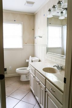 12 Of the Coolest Ways How to Upgrade Bathroom Vanity Design Plans Woman Always love to do making-up in order to find the more beautiful look in each state. In this matter, they'll need Bathroom Vanity Design Plans. Bathroom Vanity Designs, Rustic Bathroom Vanities, Beige Bathroom, Guest Bathrooms, Small Bathroom, Bathroom Ideas, Bathroom Updates, Bathroom Furniture, Bathroom Cost