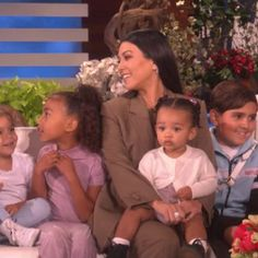 a76f8b27b6aa Kourtney Kardashian stopped by the Ellen Degeneres show today to surprise  her mom