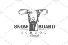 This kit contains of 9 vintage snowboarding labels, emblems and logos, as well as of elements for design. Content is detailed and ready to use for branding Surf Logo, Aesthetic Template, Logos, Logo Templates, Snowboarding, Typography, Branding, Kit, Writing