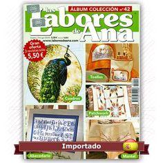 Álbum Las Labores de Ana nº 42   Idioma em Espanhol    Uma seleção com 3…