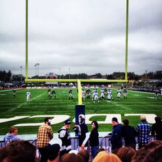 Cowell Stadium at the University of New Hampshire. I saw UNH fall 21-18 to Illinois State in the FCS semifinals on December 20, 2014.
