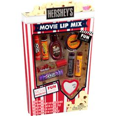 Lotta Luv Beauty Hershey's Movie Lip Mix Lip Balms, 9 pc