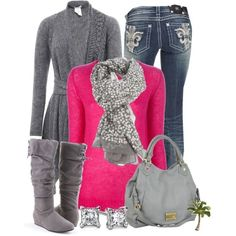 i LOVE this outfit, all I need are gray boots