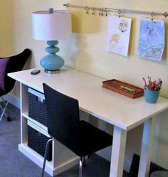 DIY Furniture : DIY Modular Office Small Desktop