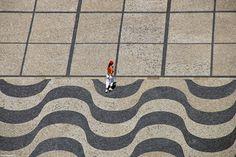 Calçada portuguesa in Lisboa, Portugal - photo by mvinagre (Miguel Vinagre), via TrekEarth