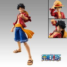 One Piece Luffy Anime manga figure figurine toy interchangeable parts straw hat gift birthday christmas