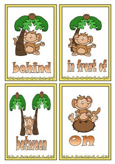 Rif English: Prepositions of Place Italian Language, English Language, Kindergarten, English Games, Learn English, Grammar, Alphabet, Student, Teaching