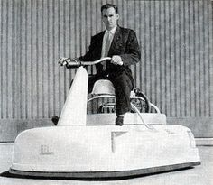 """1959 Curtiss-Wright model 2500 """"Bee"""" Air-Car prototype"""