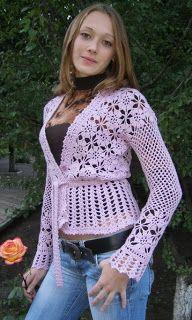 DE MIS MANOS TEJIDOS Y MAS...: Tejidos a crochet - Very pretty.