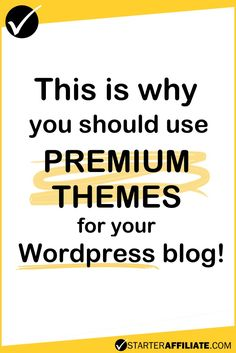 Premium themes are the best solution if you are planning to be serious about your blogging.