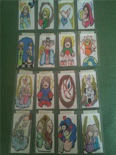 INSTRUCCIONES • Después de imprimir y pintar, puse la imagen de la oración al frente  y el texto del dibujo por atrás. Lapbook ...
