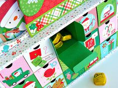 Hello, Doodlebug fans. Jennifer here and today I'm sharing my Here Comes Santa Claus  project with you. I knew I wanted to create a countdow...