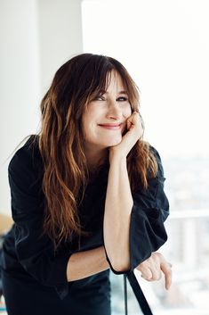 One of Hollywood's most respected actors, Hahn has spent decades honing her voice in films, network television and, most recently, web streaming series. Kathryn Hahn, Anne Mcclain, Long Braids, Celebs, Celebrities, Brunette Hair, We The People, Actors & Actresses, Beautiful People