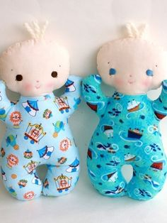 Butterbean PDF Doll Pattern by bitofwhimsyprims on Etsy