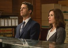 Matthew Goode isn't only a disarmingly attractive man, he's a damn good actor. On the show, Goode definitely has chemistry with leading actress Julianna Margulies and some charm, but that's it. The writers behind The Good Wife are wasting his… Matthew William Goode, Mathew Goode, Witch Tv Series, Julianna Margulies, In Harm's Way, A Discovery Of Witches, British Academy Film Awards, Medical Drama, Season Premiere