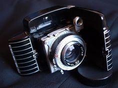 Kodak Bantam Special, my favourite art deco camera