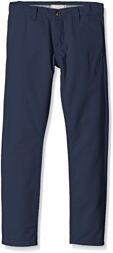 NAME IT Jungen Hose NITHANE2 K CHINO REG/SLIM PANT NOOS S, Gr. 122, Blau (Dress Blues) -