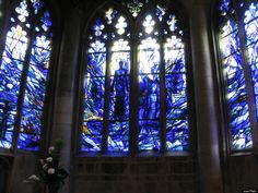 Gloucester Cathedral window, via The Most Stunning Stained Glass Windows In The World (PHOTOS). Huffington Post