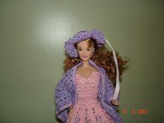 Arte e croche: Vestido de boneca