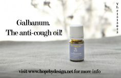 Have you ever had a rough night with coughing attacks and nothing seems to work? That intense tickling and burning sensation in your throat? The exhaustion the next day from not sleeping well only to continue to cough all day the next day?  I have been there.  Let me introduce Galbanum essential oil