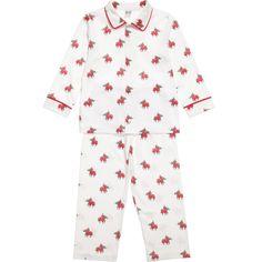 Pixie Dixie Knight Print Cotton Pyjamas at Childrensalon.com