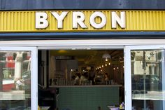 Bacon on the beech: Byron Burgers, Manchester.