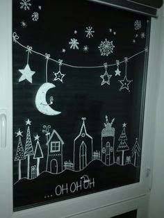 My window picture for Christmas - . - Ho Ho Ho … My window picture for Christmas – : Ho Ho Ho . My window picture for Christmas - . - Ho Ho Ho … My window picture for Christmas – - Christmas Chalkboard Art, Christmas Holidays, Christmas Crafts, Christmas Ideas, Christmas Garden, Winter Garden, Christmas Pictures, Diy Crafts To Do, Christmas Background
