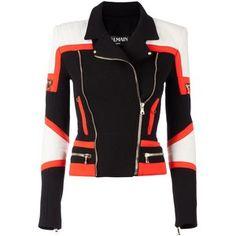 Balmain biker jacket Smets