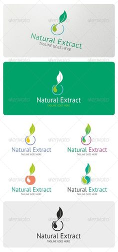 Natural Extract Logo Template #GraphicRiver Natural Extract is an elegant logo highly suitable for Bio cosmetics, beauty salon, spa, traditional medicine, herbalist, laboratory, perfume, tea and many other related businesses. Features: 3 Vector File Types included: AI, EPS, and CDR 4 Color variations 1 Grayscale Version 1 Black & White Version Fonts used: PT-SANS If you have any problems with your purchase feel free to contact me using my Profile Page Please, don't forget to rate this logo…
