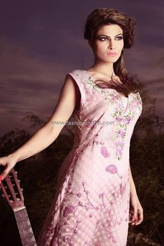 Rani Siddiqi Semi-Formal Wear 2013 Dresses for Women 001